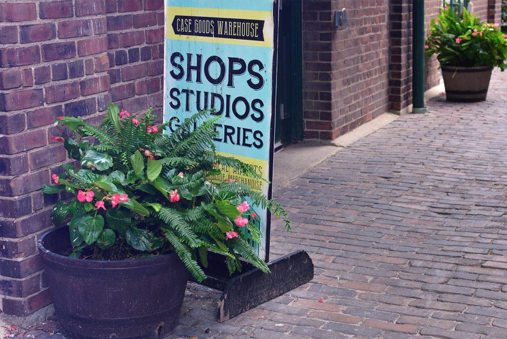 Shops, Studios, Galleries, Distillery District Toronto
