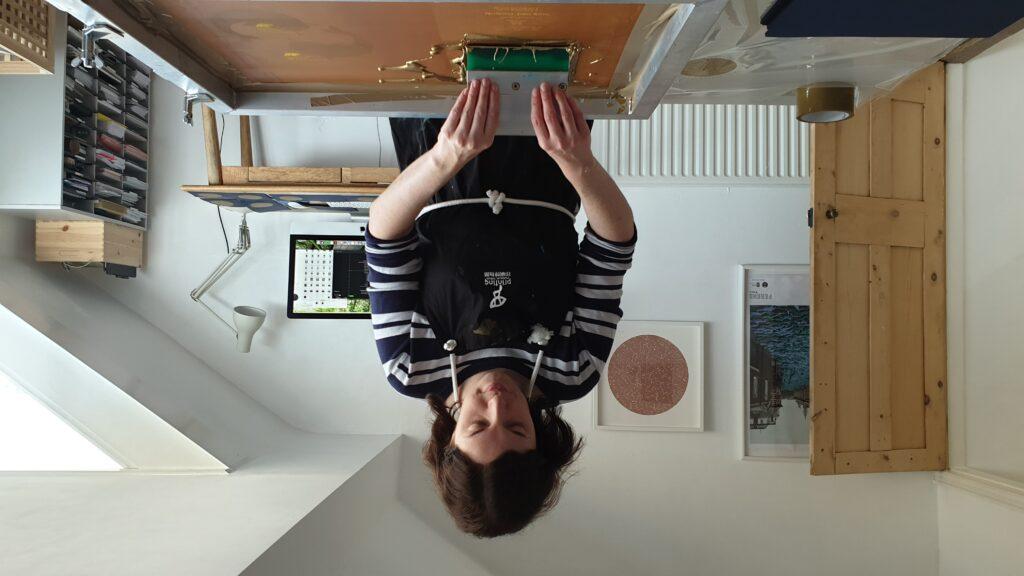 Sophie from Ink & Bear - Leeds based screen printer
