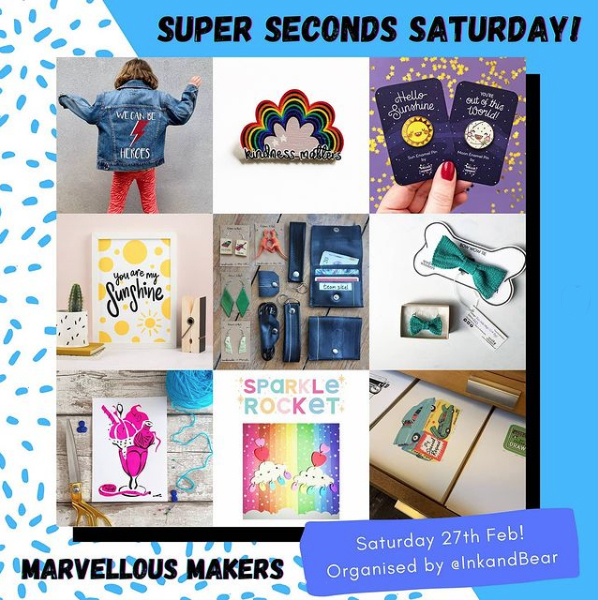 Super Seconds Saturday - Bargains from independent businesses